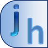 The jhdesign logo: